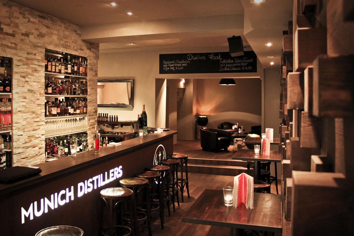 Distillers Bar & Monaco Vodka von Munich Distillers - MUNICH DISTILLERS