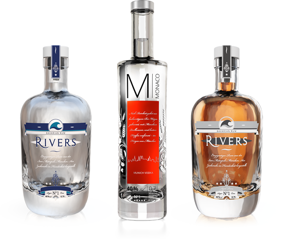 RIVERS Rum & MONACO Vodka